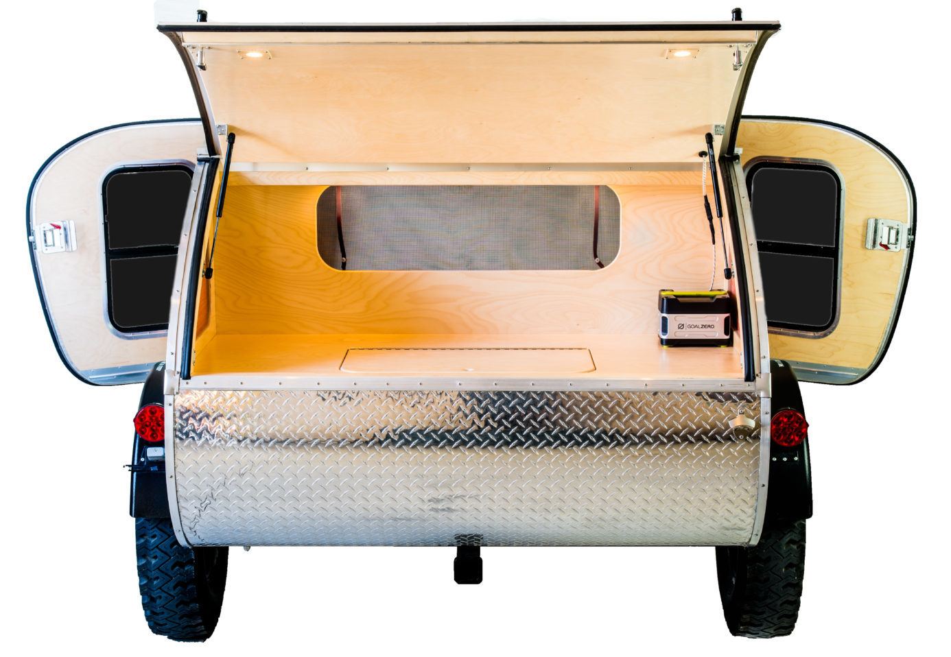 T.E. Rear Hatch Double Door